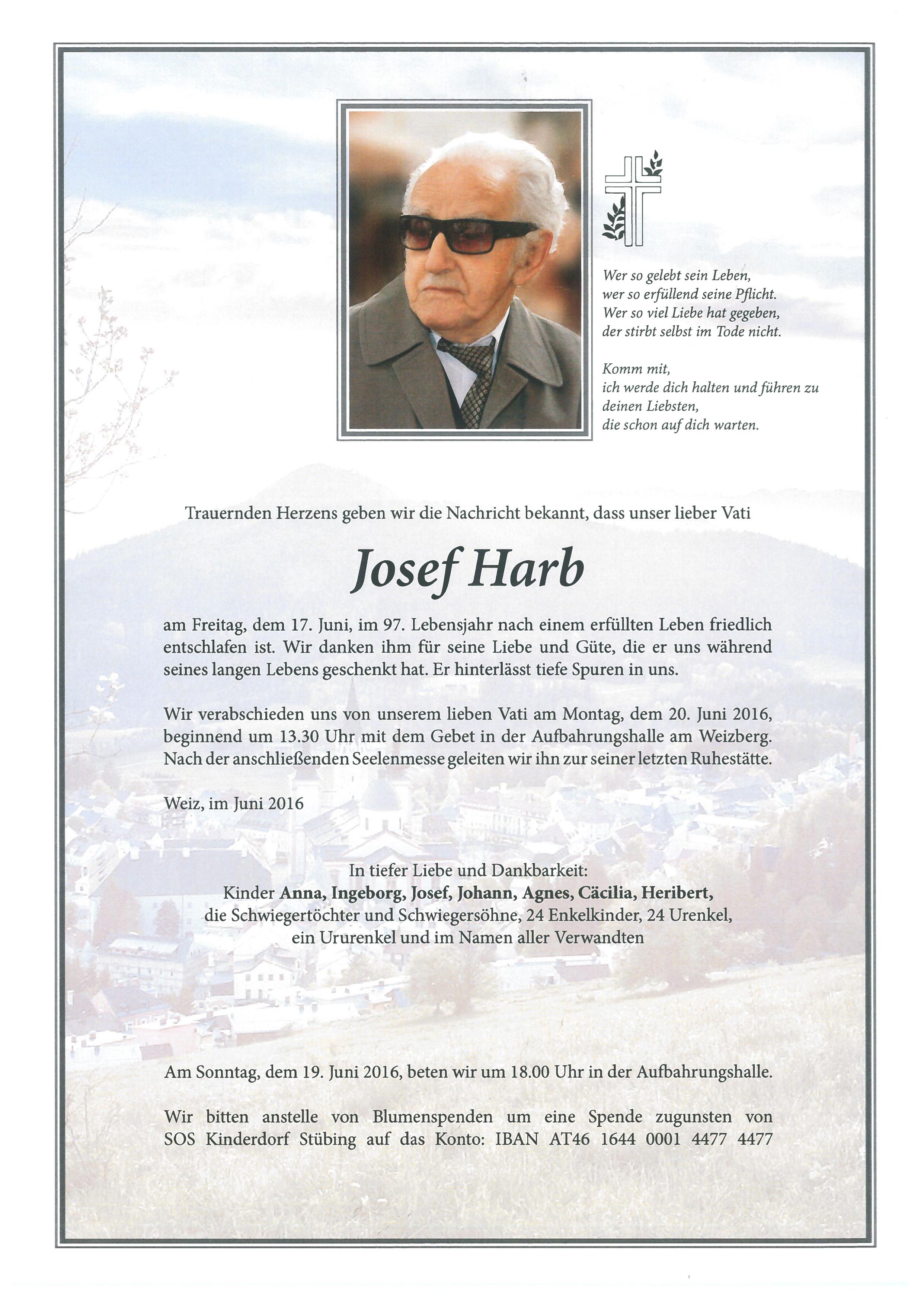 Harb Josef 1